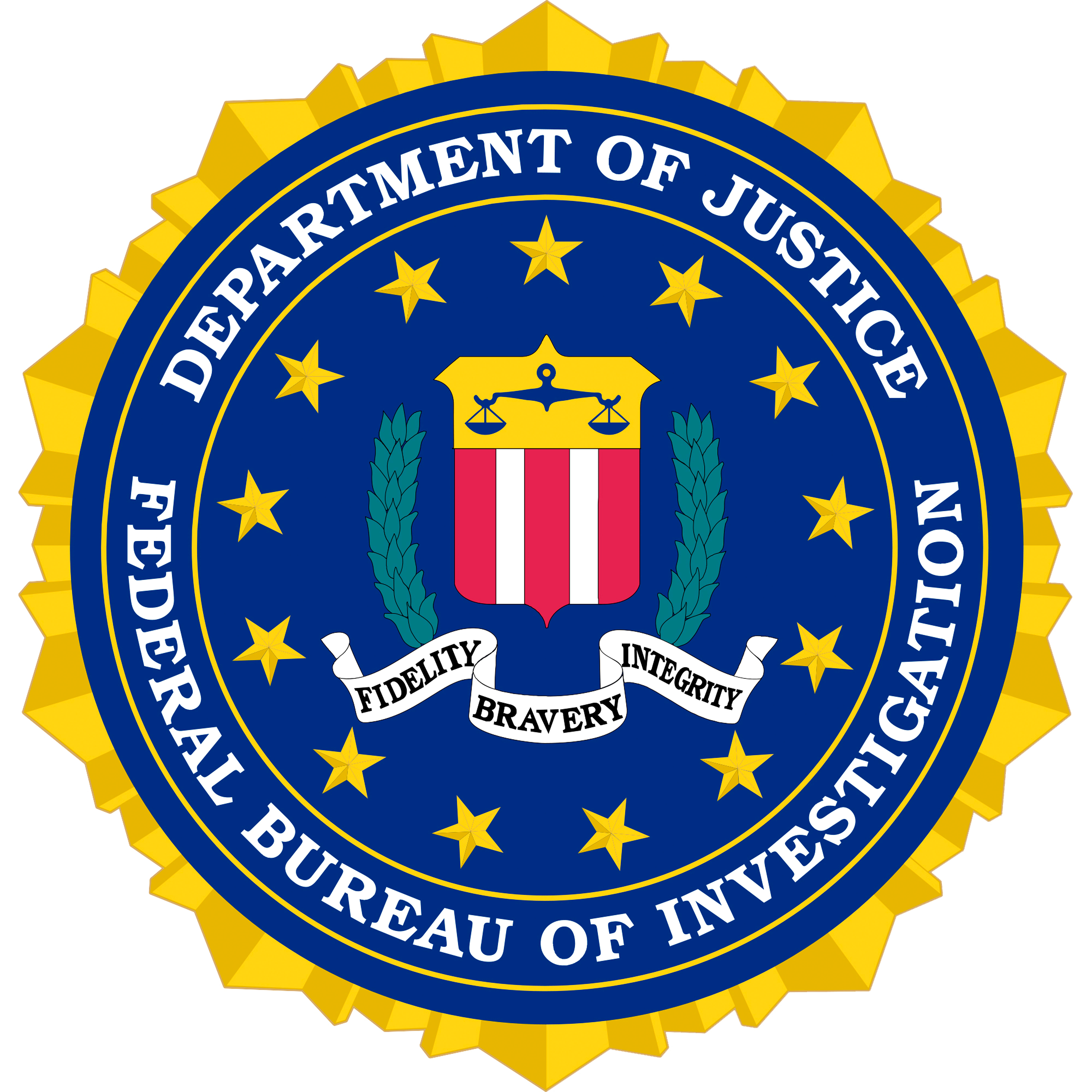 Seal of the United States Federal Bureau of Investigation ...